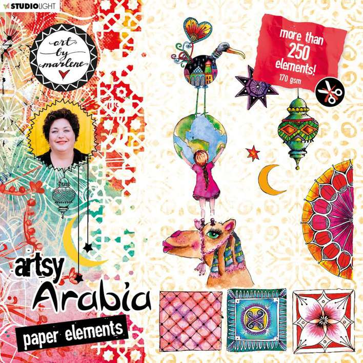 SO: Studio Light Art By Marlene Paper Elements Set #02, Artsy Arabia