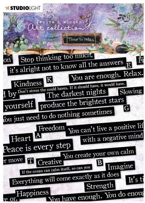 SO: Jenine\'s Mindful Art Time To Relax Stickers