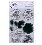 SO: Dali Art - Layering Rose Stamp Set