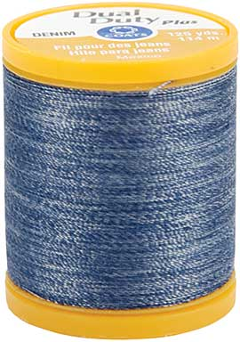 Dual Duty Plus Denim Blue Thread (125yd)