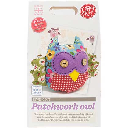 SO: The Crafty Kit Co. Sewing Kit - Patchwork Owl