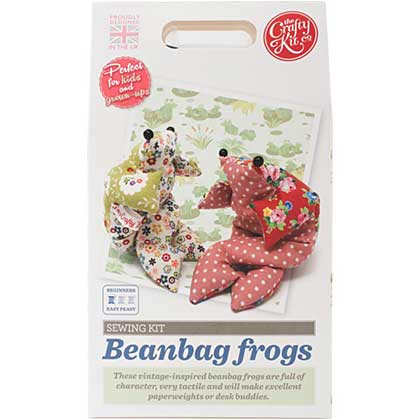 SO: The Crafty Kit Co. Sewing Kit - Beanbag Frog
