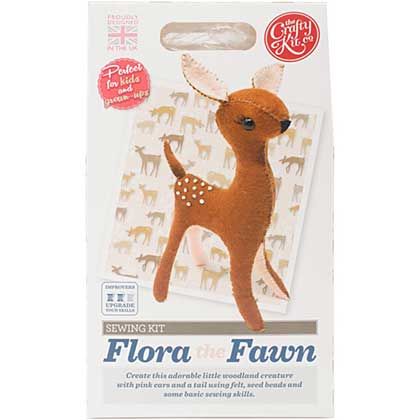 SO: The Crafty Kit Co. Sewing Kit - Flora The Fawn