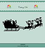 Dixi Craft Christmas Sleigh Cutting Die