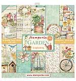 Stamperia Garden 12x12 Inch Paper Pack