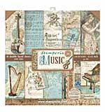 Stamperia Music 12x12 Inch Paper Pack