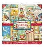Stamperia Patchwork 12x12 Inch Paper Pack