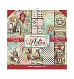 SO: Stamperia Alice 8x8 Inch Paper Pack