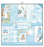 SO: Stamperia - Baby Boy 12x12 inch Paper Pack