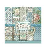 SO: Stamperia Double Sided Paper Pad - Azulejos 8x8