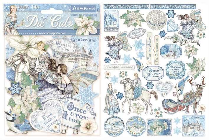 SO: Stamperia Die-Cuts - Winter Tales
