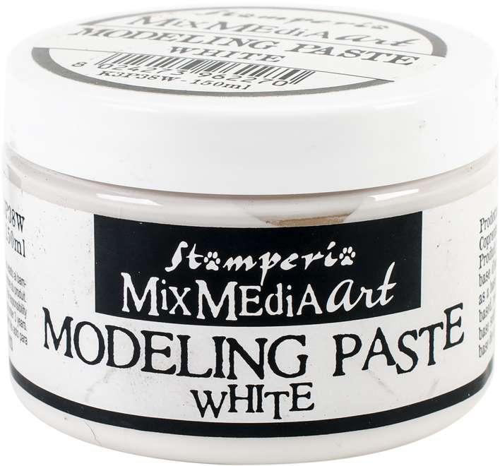 Stamperia Modeling Paste 150ml - White