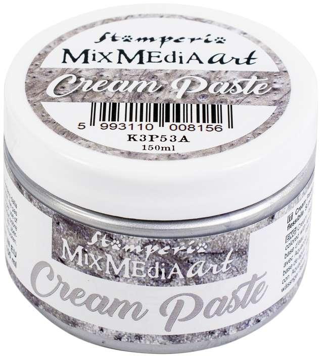 Stamperia Metallic Cream Paste 150ml - Silver