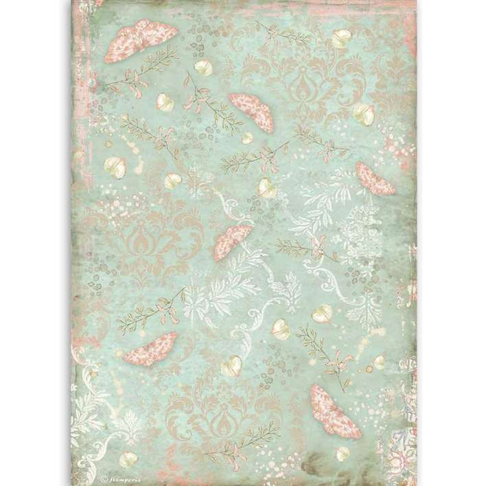 Stamperia A4 Rice Paper Butterfly