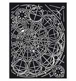 Stamperia Thick Stencil Sir Vagabond Geometry (15 x 20cm)