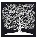 SO: Stamperia Thick Stencil Tree Of Life (30 x 30cm)