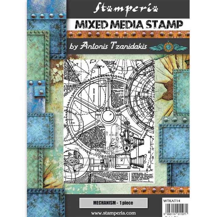 Stamperia Stamp Sir Vagabond Mechanism (15 x 20cm)