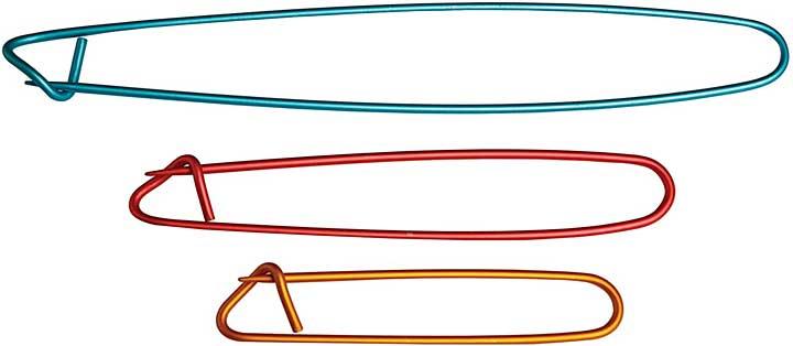 KnitPro Aluminium Stitch Holders, Set of 3