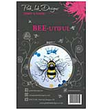 Pink Ink Designs - Bee-utiful - A5 Clear Stamp Set