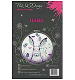 Pink Ink Designs - Hare - A5 Clear Stamp Set