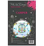 Pink Ink Designs - Camper - A6 Clear Stamp Set