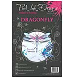 Pink Ink Designs - Dragonfly - A5 Clear Stamp Set