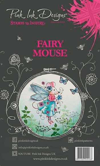 SO: Pink Ink Designs - Fairy Mouse - A6 Clear Stamp Set