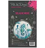 SO: Pink Ink Designs - Seahorse - A6 Clear Stamp Set