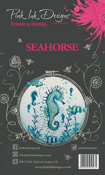 Pink Ink Designs - Seahorse - A6 Clear Stamp Set