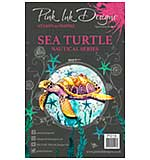 Pink Ink Designs Clear Stamp Sea Turtle A5