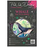 SO: Pink Ink Designs A5 Clear Stamp Whale