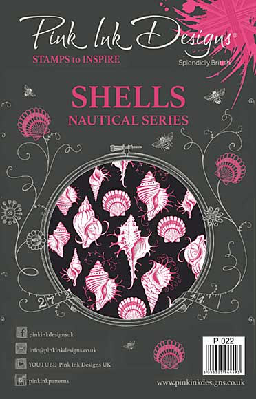 SO: Pink Ink Designs A5 Clear Stamp Shells