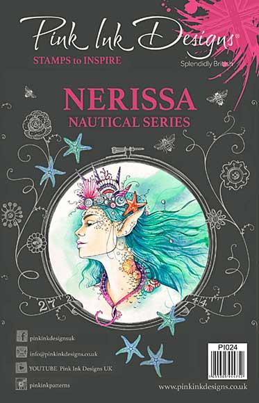 SO: Pink Ink Designs A5 Clear Stamp Nerissa