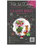 Pink Ink Designs Clear Stamp Classy Bird
