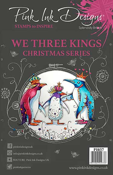 Pink Ink Designs Clear Stamp We Three Kings
