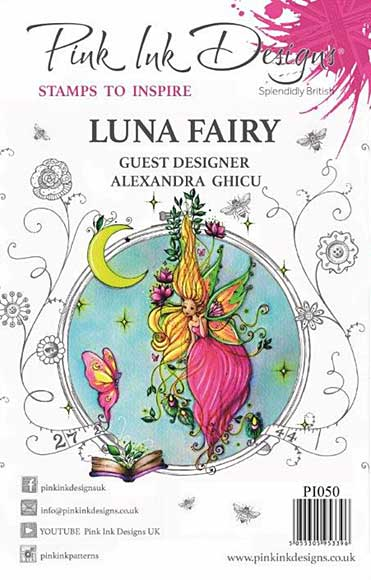 Pink Ink Designs Clear Stamp - Luna Fairy