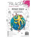 SO: Pink Ink Designs Clear Stamp - Pinky Inky