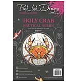 SO: Pink Ink Designs - Holy Crab - A5 Clear Stamp Set