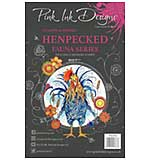 Pink Ink Designs - Henpecked - A5 Clear Stamp Set