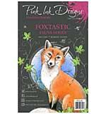 Pink Ink Designs Woodland Animals - Foxtastic Clear Stamp Set  (A5)