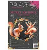 Pink Ink Designs Woodland Animals - Secret Squirrel Clear Stamp Set  (A5)