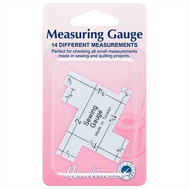 Hemline Essential Measuring Gauge (14 different measurements)