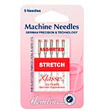 Hemline Sewing Machine Needles - Stretch (Mixed, 5 Needles)