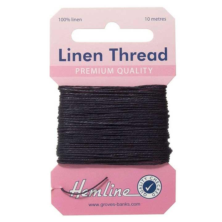 Hemline 100% Linen Thread - Blue