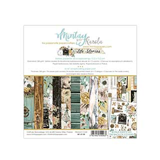 Mintay Papers - Life Stories Collection - 6 x 6  Paper Pad