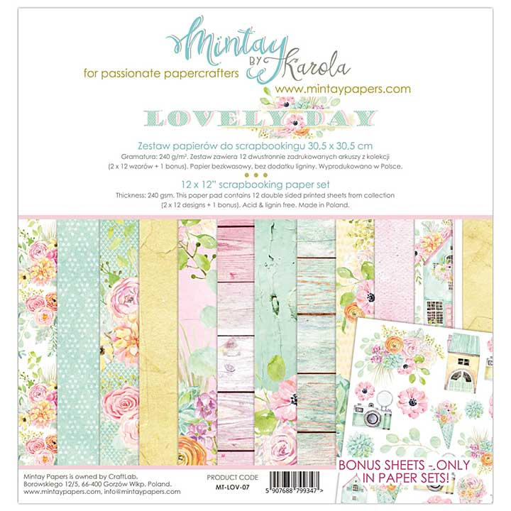 SO: Mintay Papers - Lovely Day 12 x 12 Paper Set