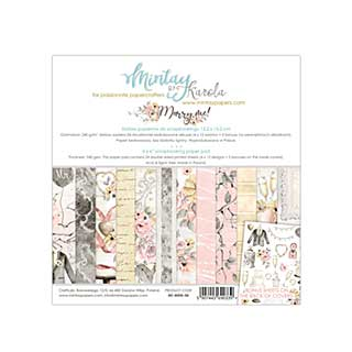 Mintay Papers - Marry Me 6 x 6  Paper Pad