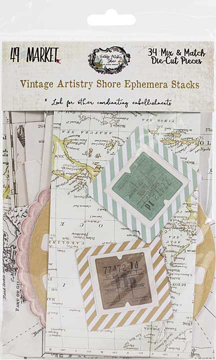 Vintage Artistry Shore Collage Stack - nan