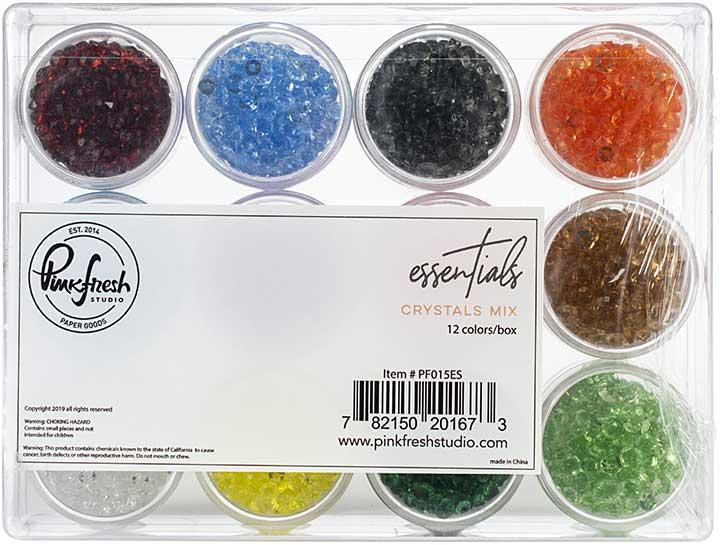 Pinkfresh Crystal Essentials - 12 Colors