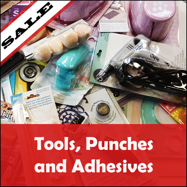 SALE Tools and Adhesives